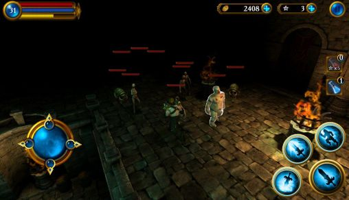 Screenshots do Exodus: Necklace of heavens - Perigoso para tablet e celular Android.