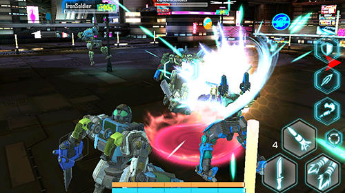 Exogears 2: Arena combat screenshot 2