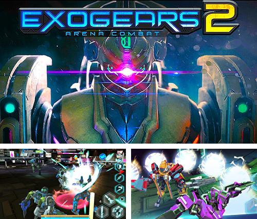 In addition to the game Hero hunters for Android phones and tablets, you can also download Exogears 2: Arena combat for free.