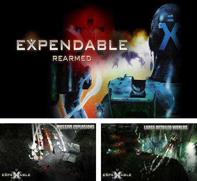 In addition to the game ANGRY BOTS 9MB for Android phones and tablets, you can also download Expendable Rearmed for free.