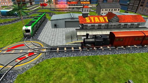 Screenshots von Express train 3D für Android-Tablet, Smartphone.