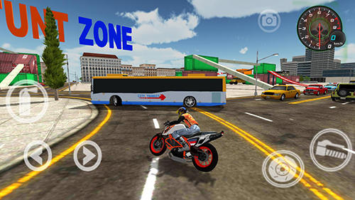 Screenshots von Extreme bike simulator für Android-Tablet, Smartphone.