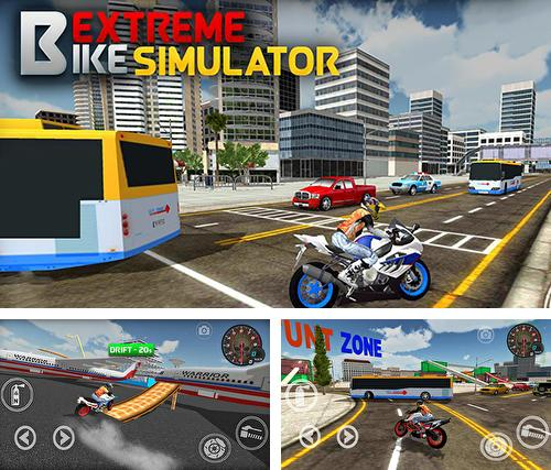 Extreme bike simulator
