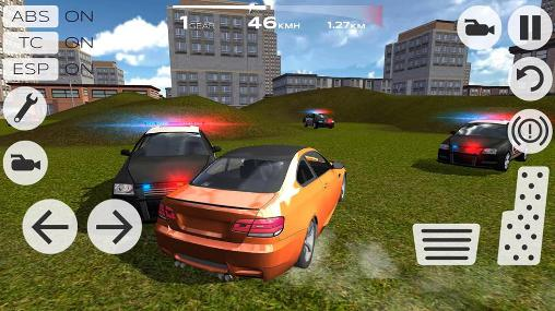 Screenshots von Extreme car driving racing 3D für Android-Tablet, Smartphone.