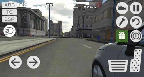 Screenshots von Extreme car driving simulator: San Francisco für Android-Tablet, Smartphone.