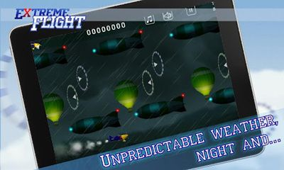 Screenshots of the Extreme Flight HD Premium for Android tablet, phone.