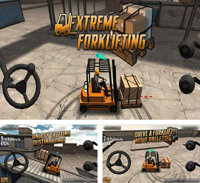 In addition to the game Traktor Digger for Android phones and tablets, you can also download Extreme Forklifting for free.