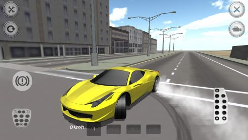 Extreme luxury car racer screenshot 1