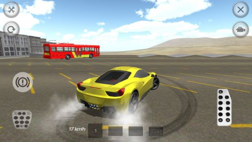 Extreme luxury car racer screenshot 2