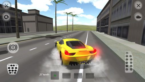 Extreme luxury car racer screenshot 3