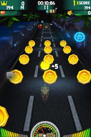 Гра Extreme moto game 3D: Fast Racing на Android - повна версія.