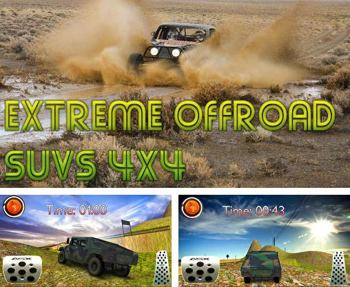 In addition to the game 4x4 offroad trophy racing for Android phones and tablets, you can also download Extreme offroad SUVs 4X4 for free.