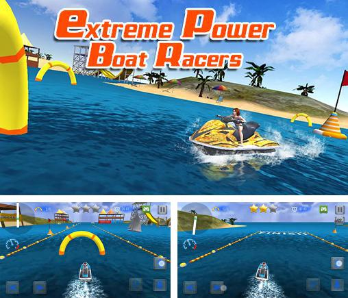 In addition to the game Police agent vs mafia driver for Android phones and tablets, you can also download Extreme power boat racers for free.