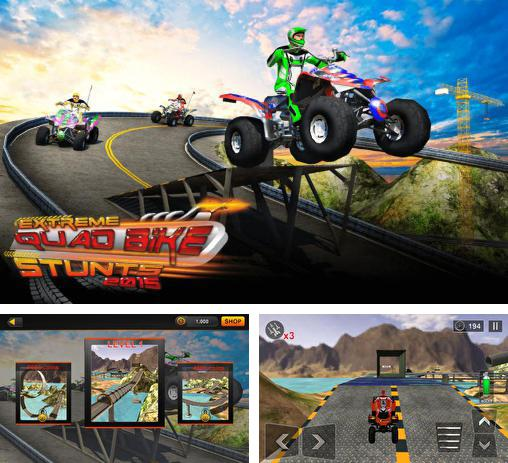 In addition to the game Trial legends for Android phones and tablets, you can also download Extreme quad bike stunts 2015 for free.