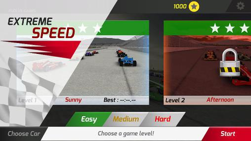 Screenshots von Extreme speed für Android-Tablet, Smartphone.