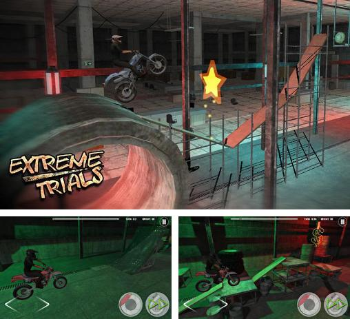 In addition to the game Trial legends for Android phones and tablets, you can also download Extreme trials: Motorbike for free.