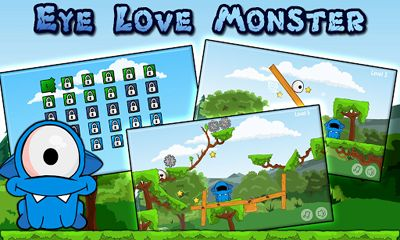 Download Eye Love Monster HD Android free game.