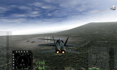 Screenshots of the F18 Carrier Landing for Android tablet, phone.