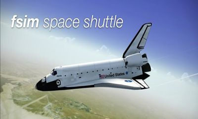 F-Sim Space Shuttle poster