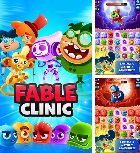In addition to the game Bunny pop for Android phones and tablets, you can also download Fable clinic: Match 3 puzzler for free.