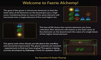 Faerie Alchemy HD screenshot 1