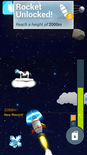 Screenshots von Faily rocketman für Android-Tablet, Smartphone.