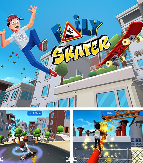 In addition to the game Mighty runner for Android phones and tablets, you can also download Faily skater for free.