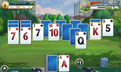 Juega a Fairway Solitaire para Android. Descarga gratuita del juego Solitario Fairway.