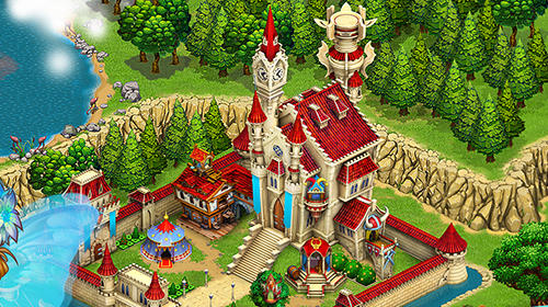 Capturas de pantalla de Fairy kingdom: World of magic para tabletas y teléfonos Android.