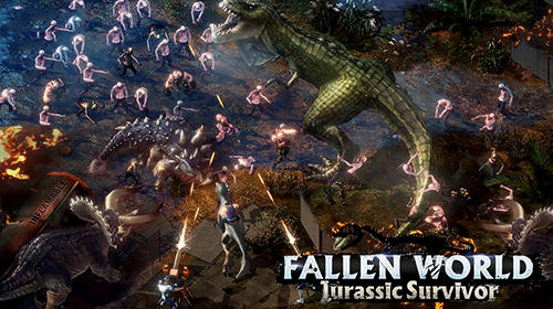 Fallen world: Jurassic survivor poster