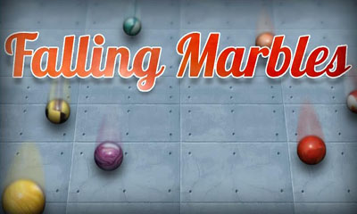 Falling Marbles