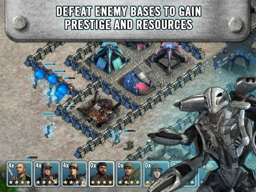 Falling skies: Planetary warfare für Android spielen. Spiel Falling Skies: Planetenkrieg kostenloser Download.