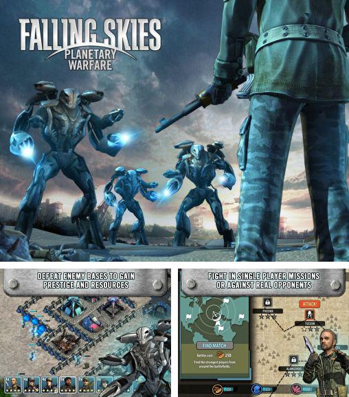 In addition to the game Fruit Roll for Android phones and tablets, you can also download Falling skies: Planetary warfare for free.