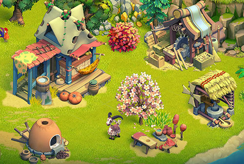 Screenshots von Family age: Beautiful farm adventures sim für Android-Tablet, Smartphone.