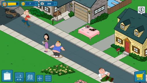 Kostenloses Android-Game Family Guy: Die Suche. Vollversion der Android-apk-App Hirschjäger: Die Family guy: The quest for stuff für Tablets und Telefone.