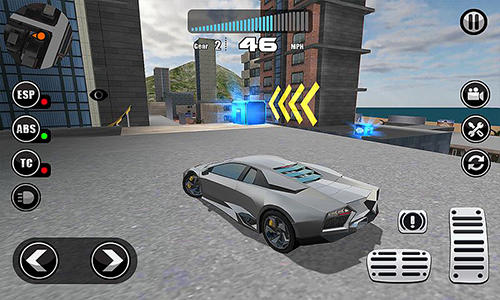 Fanatical car driving simulator screenshot 1