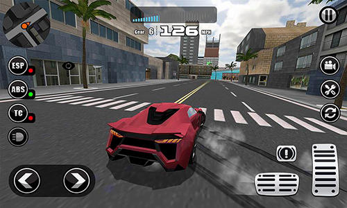 Fanatical car driving simulator screenshot 3