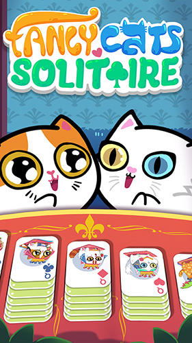 Fancy cats solitaire poster