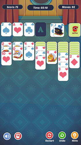 Fancy cats solitaire screenshot 3