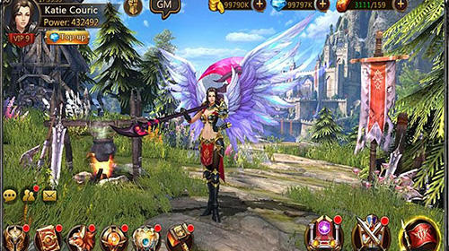 Screenshots von Fantasy blade für Android-Tablet, Smartphone.