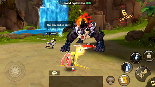 Screenshots von Fantasy heroes: Demon rising für Android-Tablet, Smartphone.