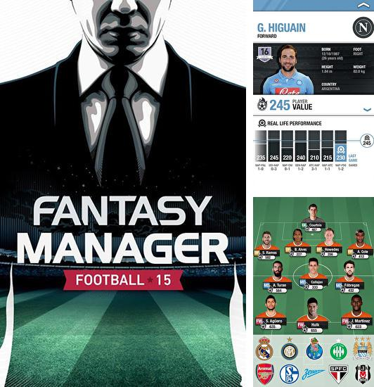 In addition to the game NBA general manager 2016 for Android phones and tablets, you can also download Fantasy manager: Football 2015 for free.