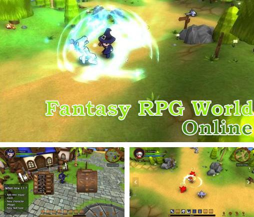Fantasy RPG world online