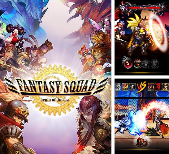 In addition to the game Clone evolution: War of the mutants for Android phones and tablets, you can also download Fantasy squad: The era begins for free.