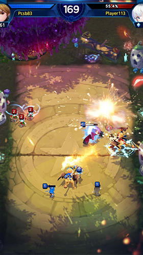 Screenshots von Fantasy stars: Battle arena für Android-Tablet, Smartphone.