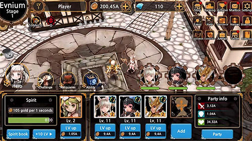 Get full version of Android apk app Fantasy tales: Idle RPG for tablet and phone.
