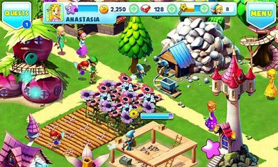 Download Fantasy Town Android free game.