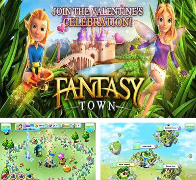 In addition to the game Steel Storm One for Android phones and tablets, you can also download Fantasy Town for free.