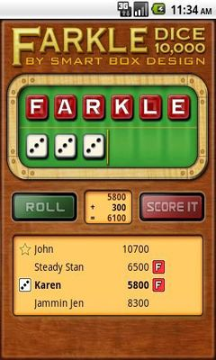 Farkle Dice screenshot 2