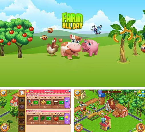 In addition to the game Farm resort for Android phones and tablets, you can also download Farm all day for free.